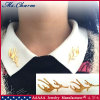 Exquisite Fashion Jewelry One Pair Gold Plated Antlers Brooch Pin