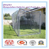 Dog Kennel or Dog Cage Stackable Folded Galvanized Steel Welded Storage Cage