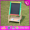 2015 Stock Educational Toy Wooden Easel for Kid, Cheap DIY Stand Wood Painting Easel for Children, Wooden Easel Wholesale W12b048A