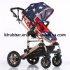 High Quality Light Weight Baby Stroller with Armrest
