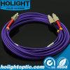 LSZH 3.0mm Om4 LC to Sc Duplex Singlemode Optic Fiber Patch Cord Cables Wan