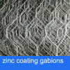 Zinc Coating Gabion Baskets for River Treatment/PVC Coated Gabion Basket for Remaining Wall