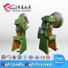 C Type J23 100ton Inclinable Power Press Machine for Punching Holes