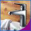 Fyeer Chrome Polished Simple Single Handle&Hole Bathroom Wash Sink Basin Faucet Water Mixer Tap