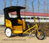 OEM Practical Electric Motor Pedicab Use for Taxi in India