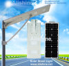 20W Solar Power Garden Lighting All in One LED Street Lamp