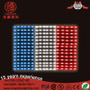 Outdoor Advertising French Flag Strip Light String for Outdoor Decoration