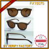 Fx15070 Popular Style Vintage Wooden Sunglasses with Polarised Lens