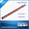 Integral Plug Hole Stone Drill Rod for Mining