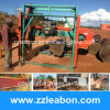 Angola Use Diesel Engine Horizonal Wood Band Sawmill