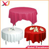 Restaurant Polyester Plain Round Table Cover Cloth for Sale
