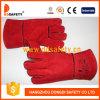 Hot Sale Red Cow Split Welding Safety Working Gloves