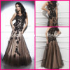 Beads Formal Gowns Black Lace Sequins Evening Dresses T214209