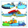 Commercial Outdoor Customized Inflatable Water Park with Ce Blower