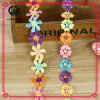 Free Sample Decorative Colorful Poly Lace Trim for Clothing