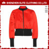Fashion Red and Black Bomer Varsity Jacket Women (ELTBJI-60)