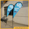 Exhibition Aluminium Portable Teardrop Flag/Teardrop Banner/Flying Flag