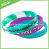 Embossed Printing Silicone Bracelet with Custom Logo