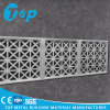 CNC Cut Perforated Metal Panel Facade for Curtain Wall