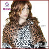 Satin Leopard Print Fabric Scarf (AP03)