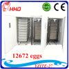 Incubateur automatique d'oeufs de poulet de Digitals grand pour 10000 oeufs