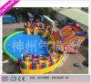 Heißestes neues buntes Süßigkeit-Wasser-Park-Wasser-Plättchen-aufblasbares Spiel