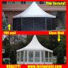 En Chine clair pour le mariage de tentes à tête hexagonale 10m de diamètre de 100 personnes places Guest