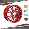 Оправы эпицентра деятельности колеса сплава 14 дюймов заполированности стороны Black& красные бронзовые серебристые