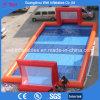 Corte gonfiabile gonfiabile di gioco del calcio del campo di calcio dell'acqua della bolla dei capretti