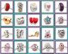 20PCS Love Silver Beads per Charm Bracelet