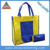 Sac à provisions pliable de cadeau d'emballage non-tissé réutilisable promotionnel de tissu