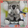 Juguete suave del oso de la madre del animal relleno de la felpa En71 y de Koala de los cabritos