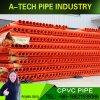 La protección del cable eléctrico resistente al agua del tubo de CPVC de tubo de protección del cable