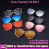 1002 Lady nova moda óculos de sol de condução polarizada de duas cores