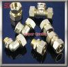 Pezzi di ricambio meccanici di alluminio lavoranti di macinazione anodizzati di CNC