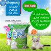 Meipeng Calidad Premium libre de polvo de la bentonita cat litter