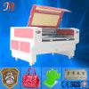 Plaçant la machine de découpage de laser pour le découpage en cuir (JM-1210H-CCD)