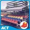 Banco de aluminio del Courtside con los asientos plásticos del blanqueador