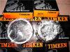 Timken 28150 Kegelzapfen-Rollenlager Abec-5 Gcr15