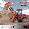 1.2ton Mini Wheel Loader 세륨 Approved Hydraulic 4 Wheel Drive