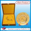 Plaque de métal de souvenirs personnalisés avec d'emballage cadeau
