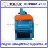 Capacidade Deburring da ventilação da máquina de sopro do tiro do cilindro da rotação auto