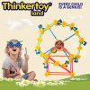 Plastica DIY Third Wheel Model Education Toy per Chirstmas Gift