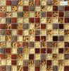 Deco Indoorのための8mmブラウンCrystal Mosaic