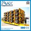 5 Radachsen 4 Axles 3 Axles Special Low Bed Plattform Hydraulic Front Loader 80ton 100ton 120ton 150ton Detachable Gooseneck Trailer