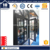 アルミニウムクラッディングは高品質の開き窓のWindowsを焼く