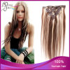 P Color 8#/27L# Straight Vietnam Hair Clip in Hair Extension