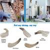 Peladora comercial del camarón, peladura y máquina desvenada, peladora del camarón de la gamba