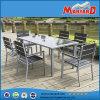 Persona di alluminio della mobilia 6 del patio di Polywood che pranza insieme