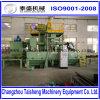 De transportband die van de rol die machine kogelstralen in China wordt gemaakt
